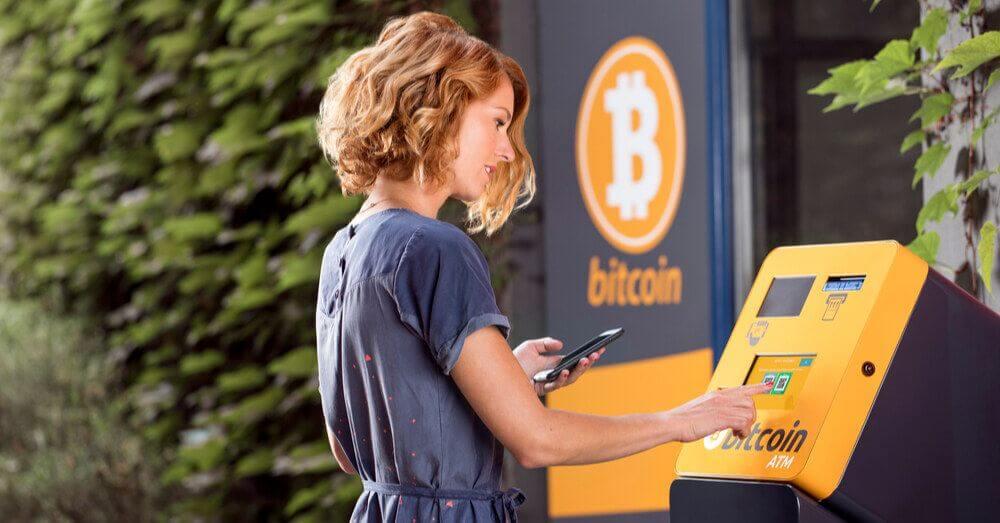 Gebrauch von Bitcoin ATM steigt um 40 %