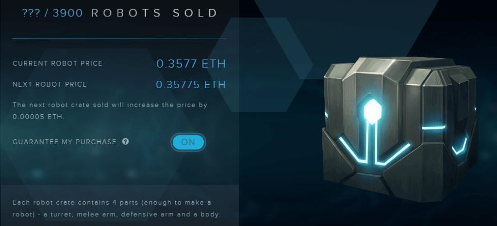 Etherbots Presale
