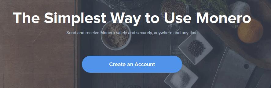 Monero Wallet Schritt 1