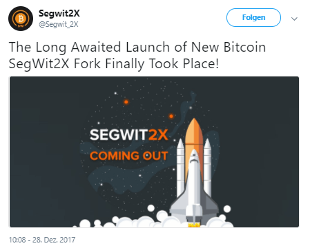 Segwit2x Hard Fork