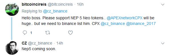 NEO NEP5 Token